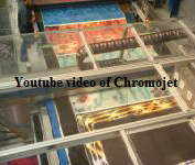 ChromoJet rug printing using process colours
